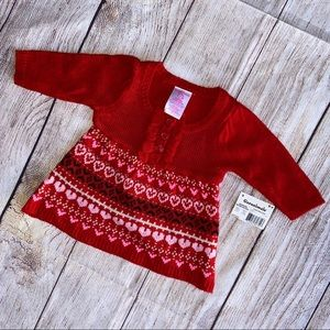 Garanimals Red NWT Sweater Newborn